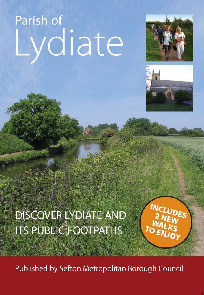 Image of Parish of Lydiate Walks leaflet