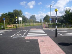 Image of Zebra Crossing, Town Lane