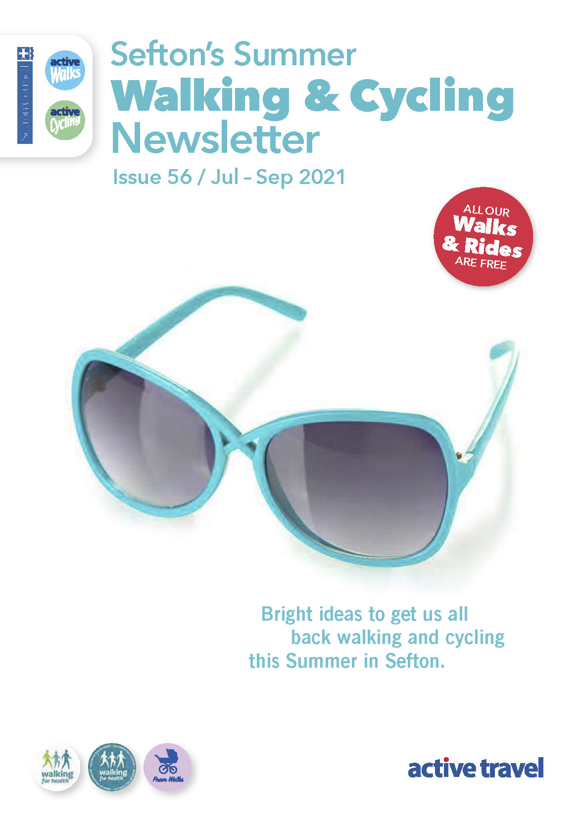 Image of new walking and cycling newsletter